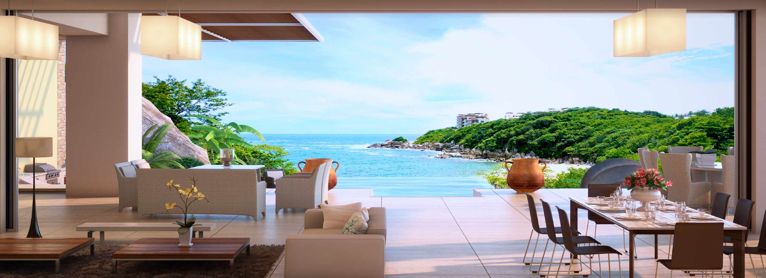 Cosmo residences huatulco unparalleled value in a full for Villas huatulco