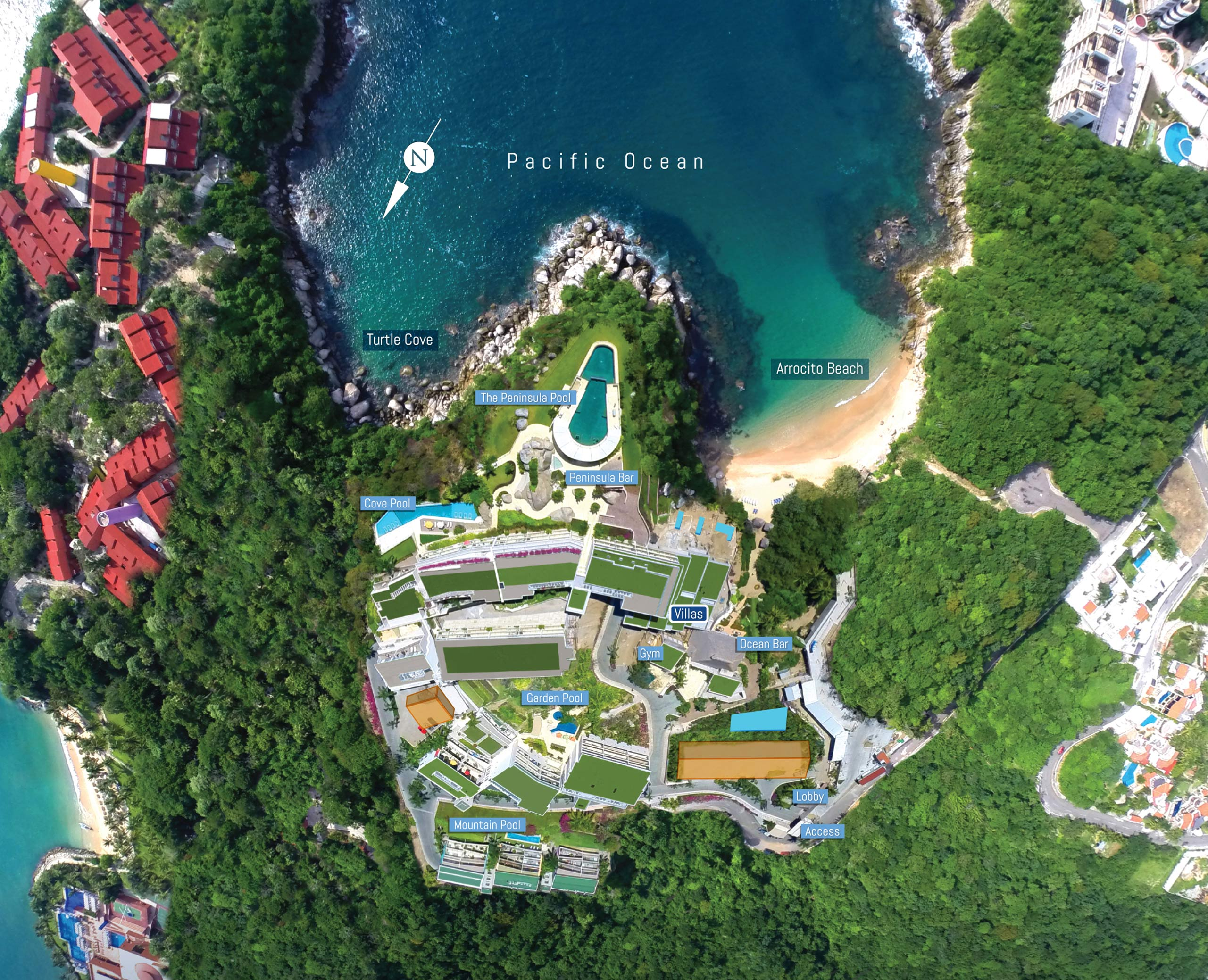 Cosmo Mexico Map.Bestselling Development In Huatulco Real Estate Investment Mexico